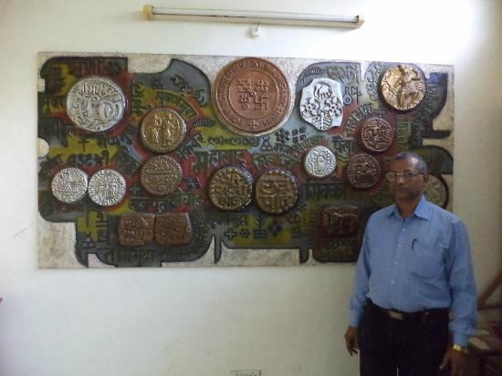 Coin Museum: MY SELF AT COINS MUSEUM