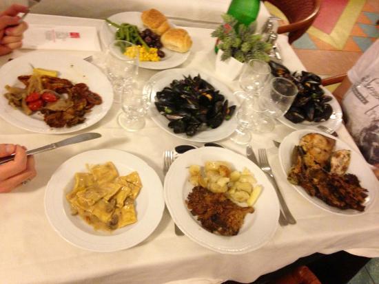 Hotel Caesar Palace: Esempio di ristorazione