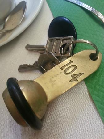 Hotel Artorius: The key. Hard to forget.