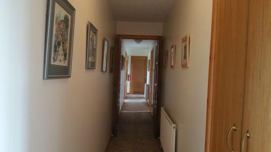 Strathy, UK: corridor