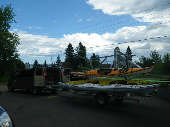 Sawtooth Outfitters: The kayaks