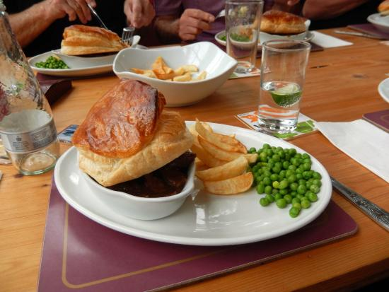 Butcher and Beast: Pie, chips and peas