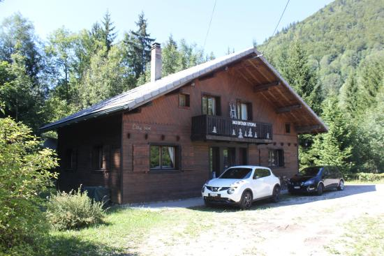Chalet Azalée-Mountain Utopia: Front view of chalet (garden is at the rear)