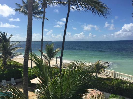 Dover Beach Hotel: View from our balcony