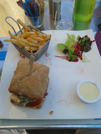 L'escale : Burger Normand