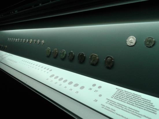 Detalle piezas: fotografía de Museo de Prehistoria y Arqueologia de Cantabria...