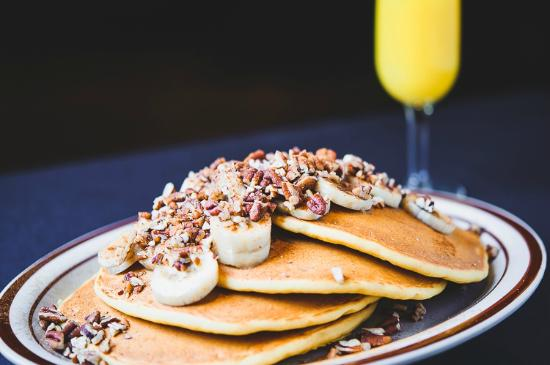 The Egg & I: Delicious Pancakes with Your Choice of Toppings