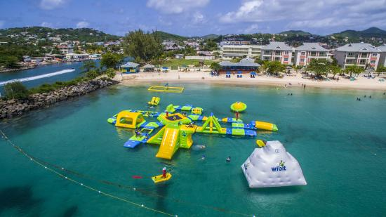 Splash Island Water Park Saint Lucia Gros Islet St Lucia 2017