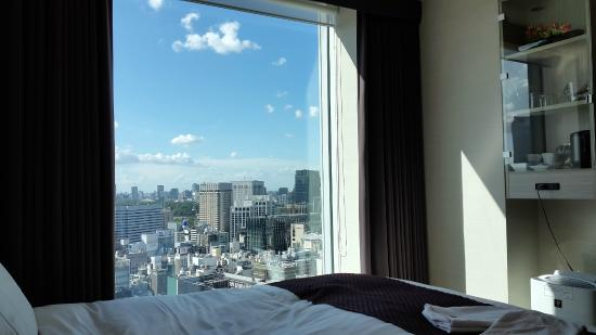 Room With View Picture Of Mitsui Garden Hotel Ginza Premier Chuo Tripadvisor
