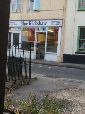 Blue Rickshaw