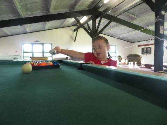 Treworgie Barton: games room