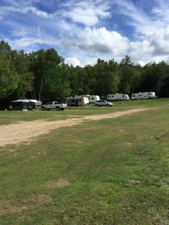 Shelburne, NH: Open field area