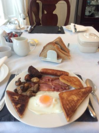 Scotties Bed and Breakfast: Excellent cooked breakfast