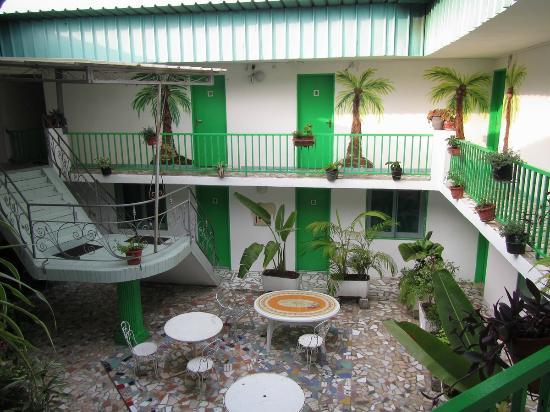 Le Patio: The interior patio / atrium