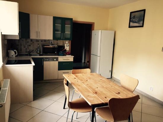 Residence Pinkas Old Town: Кухня столовая