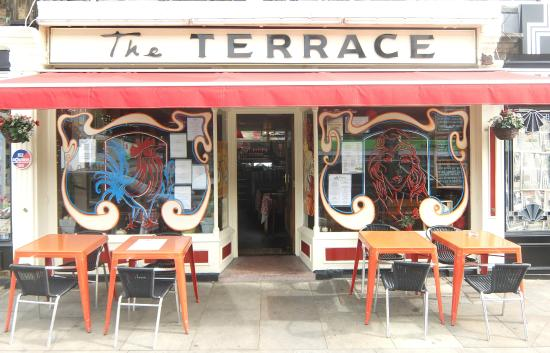 Foto de the terrace cafe bar shipley for The terrace cafe bar