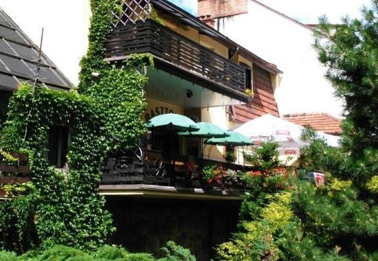 Tuchola, Polen: A balcony of Basztowa