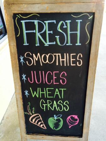 Food For Thought: Sidewalk sign