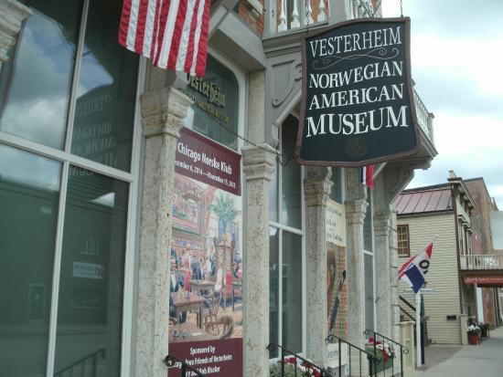 Vesterheim: Museum Street View