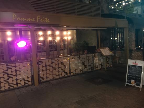 Pomme Frite: Outside Terrace