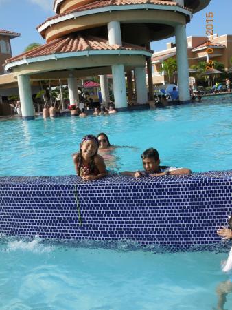 Divi Village Golf And Beach Resort Small Pool Waterfall