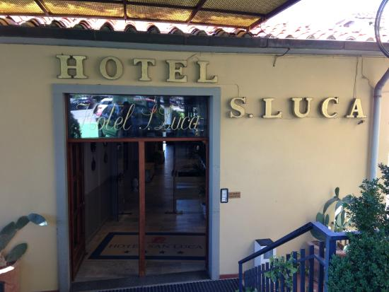 Hotel San Luca: Hotel entry