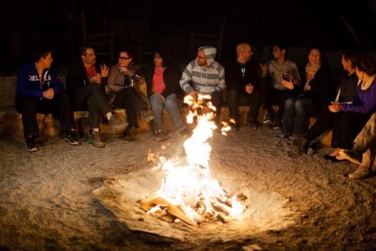Alto Atacama Desert Lodge & Spa: Bonfire
