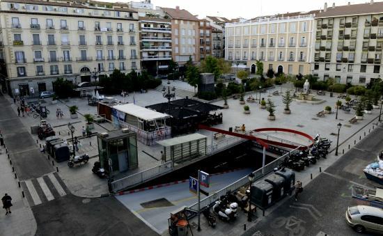 Hostal San Lorenzo : Plaza Vazquez de Mella