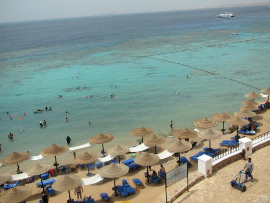 Jaz Fanara Resort & Residence : the beach