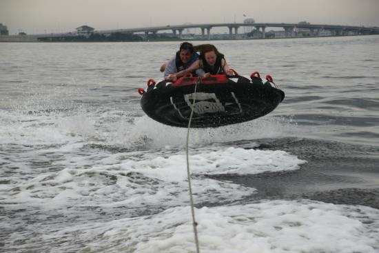 Totally Tubular Watersports: Going Airborne with Totally Tubular in Ocean City