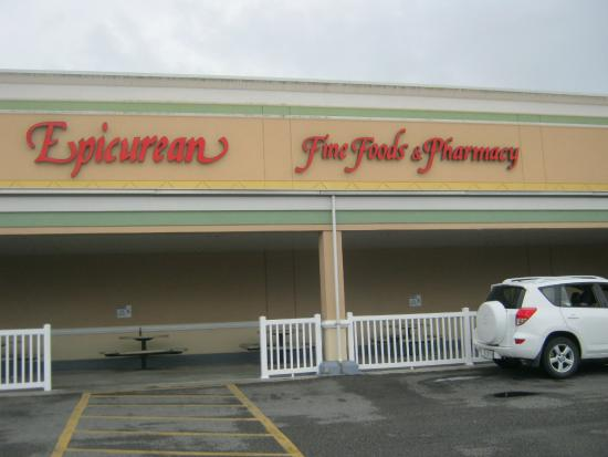 Epicurean Fine Foods: Main Entrance to Epicurean