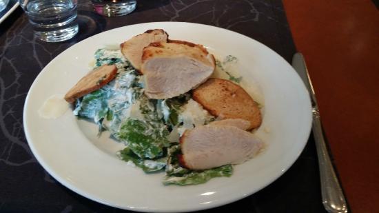 Brasserie Terra Nova: Ceasar salad