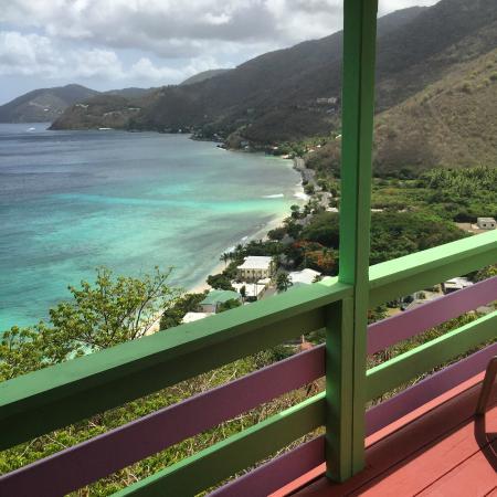 Turtle Dove Cottages: Amazing View