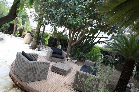 armenonville hotel espace dtente jardin - Detente Jardin