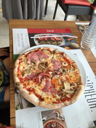 pizzas marocaine et pizza carbonara photo de ristorante del arte soissons tripadvisor. Black Bedroom Furniture Sets. Home Design Ideas