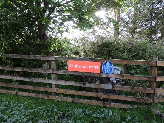 Druimnacroish: Entrance to Drumnacroish