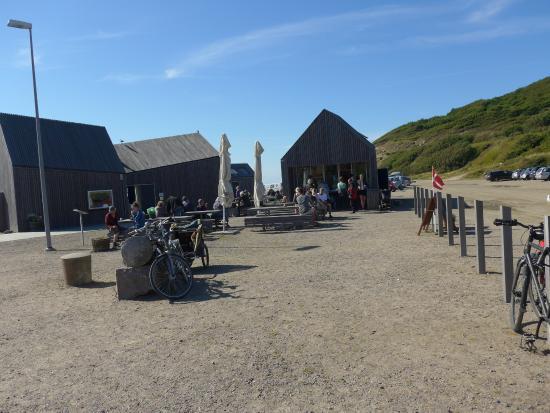 Sandvig, Dinamarca: Café med udendørs siddepladser
