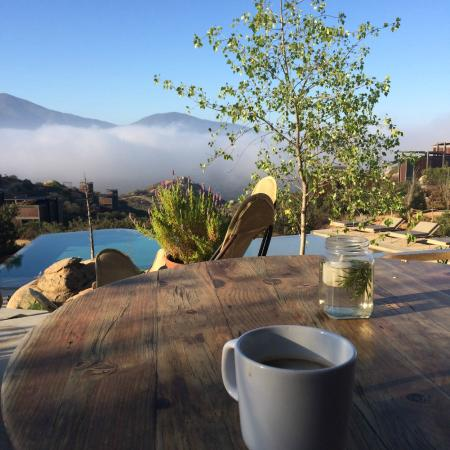 Encuentro Guadalupe: from the pool restaurant area