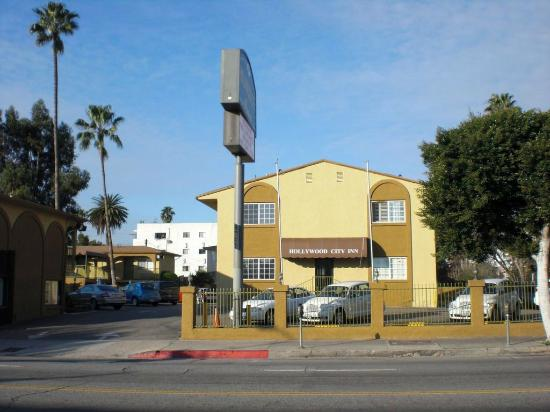 Street View Picture Of Hollywood City Inn Los Angeles