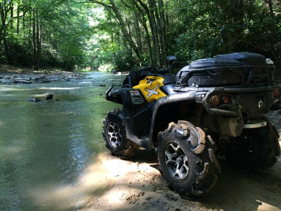 Hatfield-McCoy Trail: Pinnacle Creek