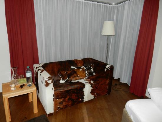 Skihotel Galzig: номер