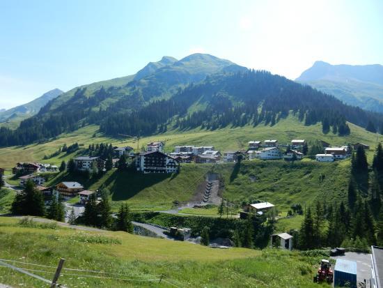 Skihotel Galzig: местность