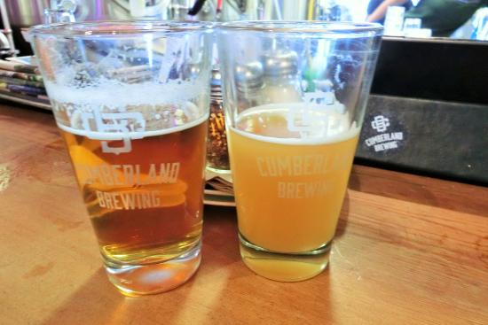 Cumberland, Canadá: A couple of delicious beer