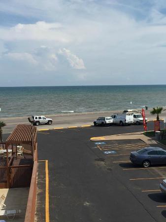 La Quinta Inn Galveston East Beach Beautiful View Of The Gulf