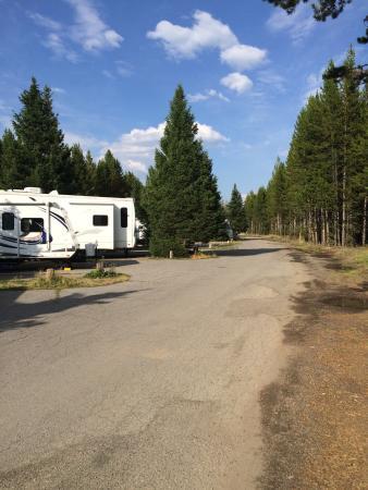 pełne podłączenie kempingów w Wyoming randki świątynne uniwersyteckie
