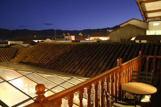 Los Apus Hotel & Mirador: View from Room #301's balcony