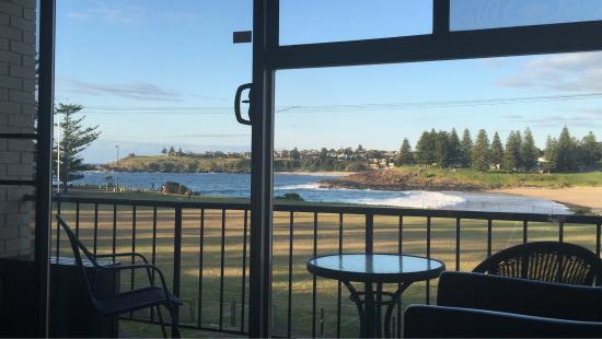 Kiama Cove Motel: View from room
