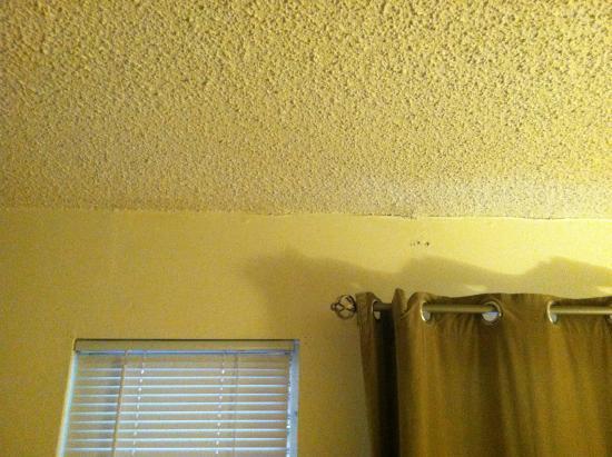 Tahoe Vistana Inn: Ceiling falling apart
