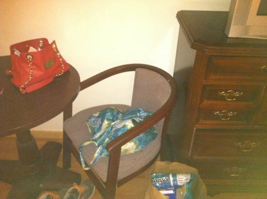 Tahoe Vistana Inn: the dangerous chair