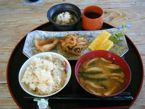 Guesthouse PanPana: 朝食